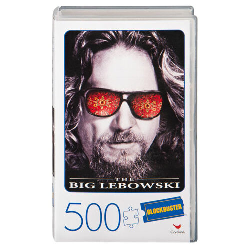 VHS Puzzle (500 pieces) - The Big Lebowski