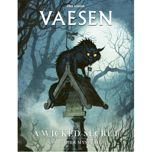 Vaesen RPG: A Wicked Secret & Other Mysteries Adventure
