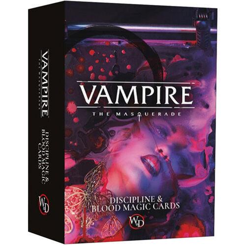 Vampire: The Masquerade - Discipline and Blood Magic Card Deck