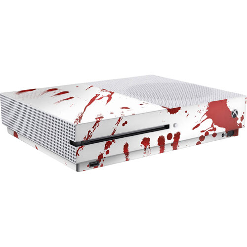 Xbox One S Skin Zombie Blood