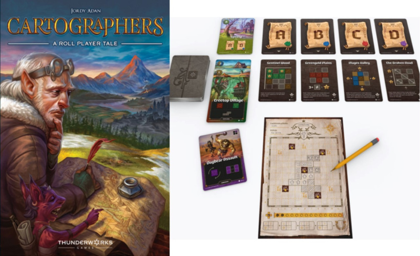 Roll and Write: Cartographers