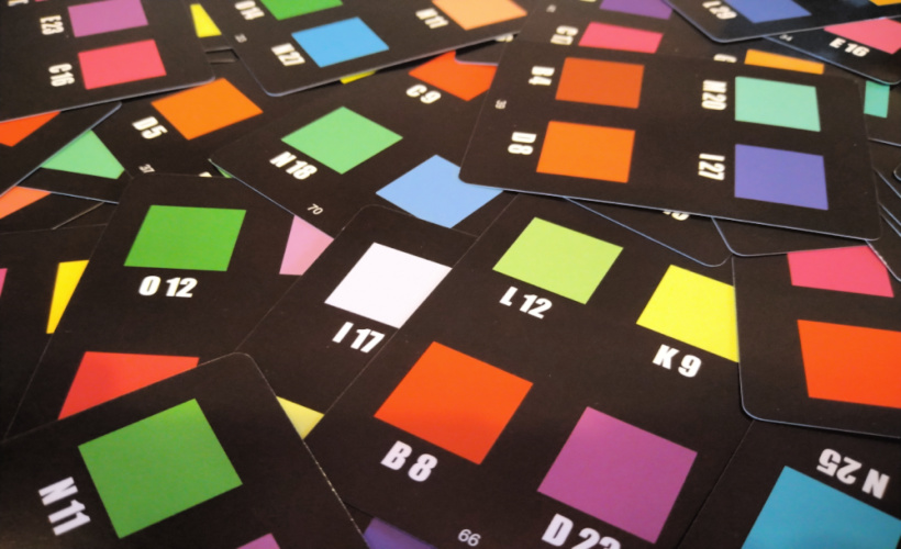Hues and Cues cards