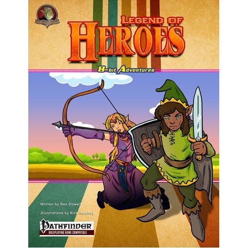 8-bit Adventures: The Legend Of Heroes (pathfinder)