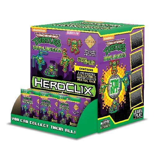 *A Grade* Unplugged Gravity Feed: Teenage Mutant Ninja Turtles HeroClix