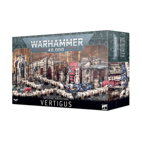 *A Grade* Warhammer 40K: Battlezone - Manufactorum Vertigus