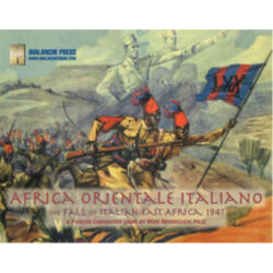 Africa Orientale Italiana: Panzer Grenadier
