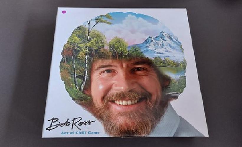 Bob ross box