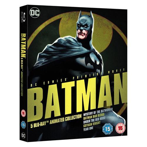 DC Universe - Batman Animated Boxset - Blu-ray
