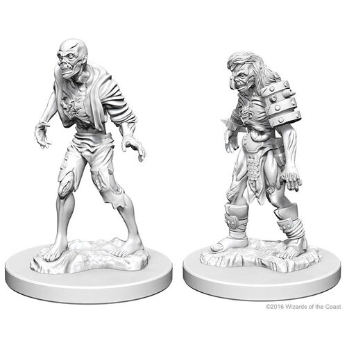 D&D Nolzur's Marvelous Unpainted Miniatures (Wave 1): Zombies