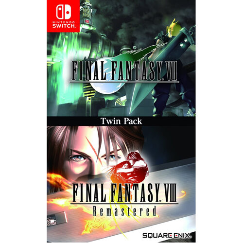 FINAL FANTASY VII and FINAL FANTASY VIII Remastered - Twin Pack - Nintendo Switch