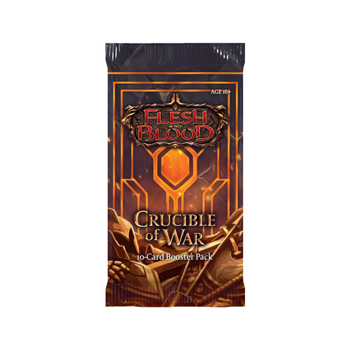 Flesh And Blood TCG: Crucible of War Booster Pack