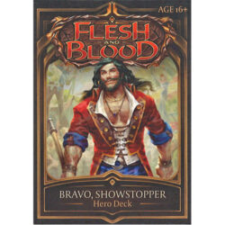 Flesh and Blood TCG: Welcome to Rathe Hero Deck - Bravo, Showstopper