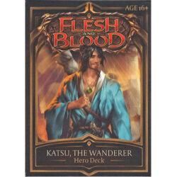 Flesh and Blood TCG: Welcome to Rathe Hero Deck - Katsu, The Wanderer
