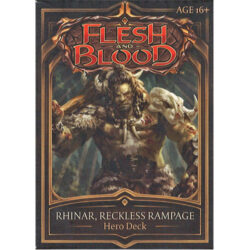 Flesh and Blood TCG: Welcome to Rathe Hero Deck - Rhinar, Reckless Rampage