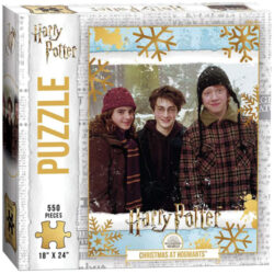 Harry Potter Christmas at Hogwarts Puzzle (550 pieces)