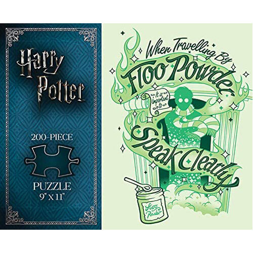 Harry Potter Floo Powder Puzzle (200 pieces)