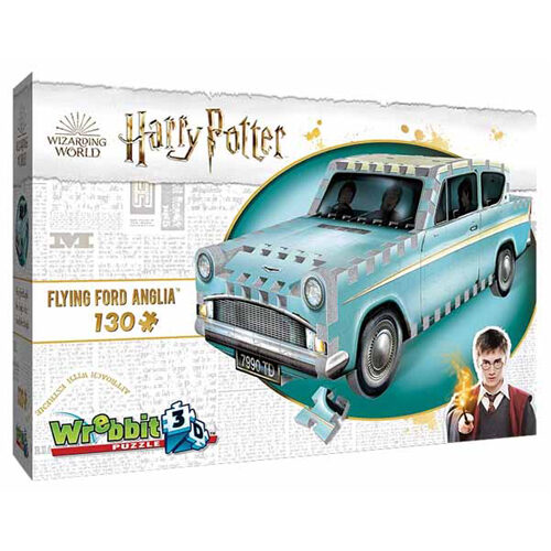 Harry Potter: Flying Ford Anglia (130pc)