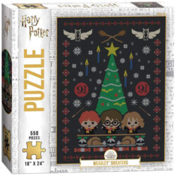 Harry Potter Weasley Sweaters Puzzle (550 pieces)