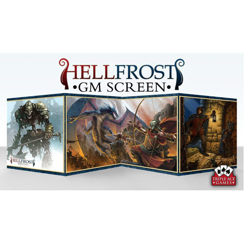 Hellfrost GM Screen with Adventure