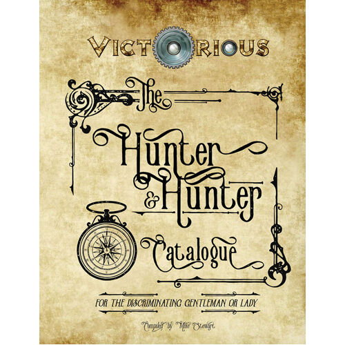 Hunter & Hunter Catalogue: Victorious RPG