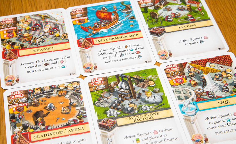 Imperial Settlers Empires of the North Cards