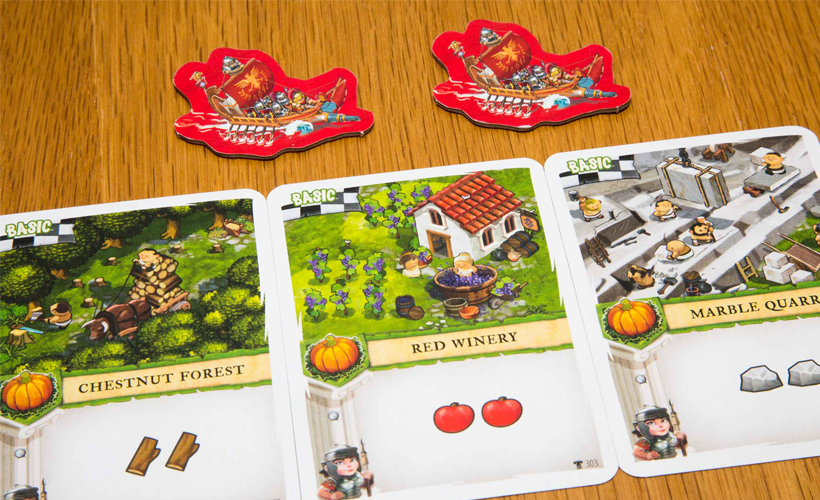 Imperial Settlers Empires of the North - Roman Banners Components
