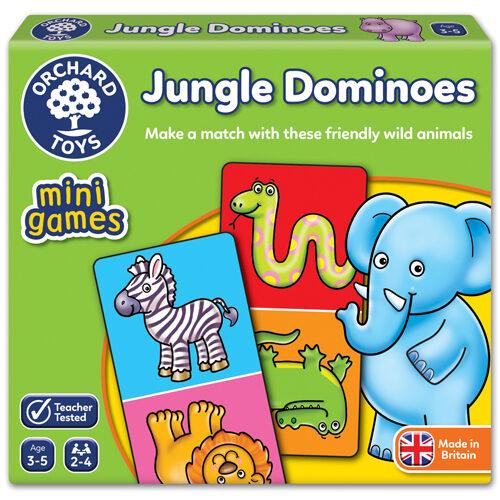 Jungle Dominoes- Mini Game