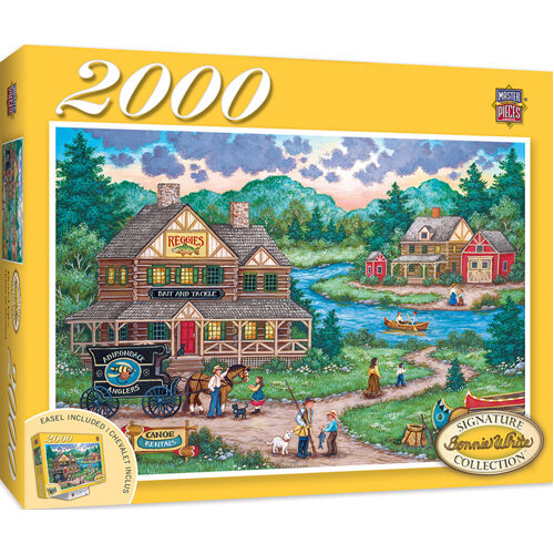 Masterpieces Puzzle: Signature Collection Adirondack Anglers Puzzle - 2000 pieces