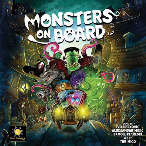 Monsters on Board (Deluxe Edition) With Monster Mixer Expansion
