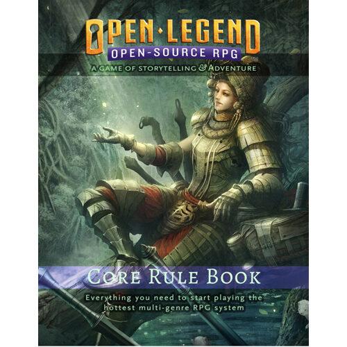 Open Legend Core Rule Book