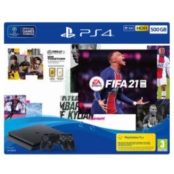 PS4 500GB & FIFA 21 with Extra DualShock 4