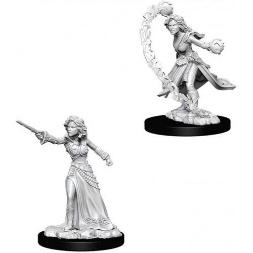 Pathfinder Battles Deep Cuts Unpainted Miniatures (Wave 1): Female Human Wizard