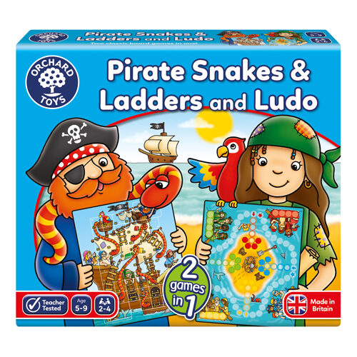 Pirate Snakes & Ladders & Ludo