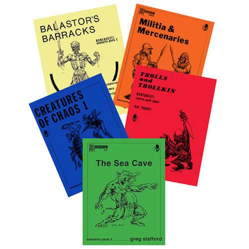 Runequest Old School Resource Pack - Book Bundle