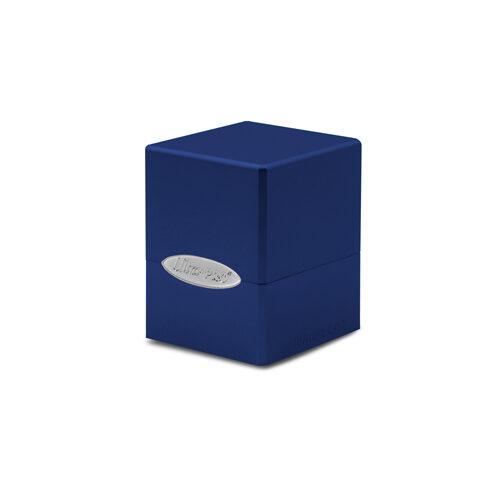 Satin Cube - Pacific Blue