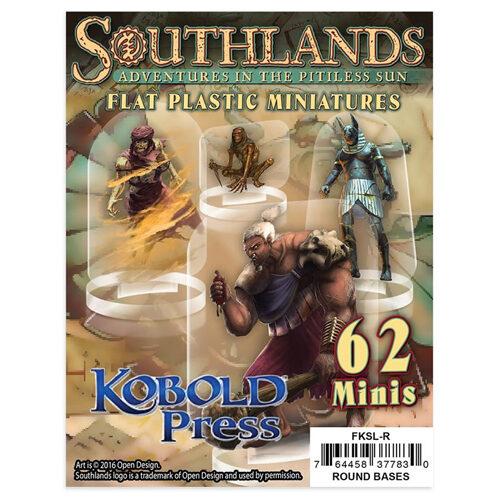 Southlands: Flat Plastic Miniatures