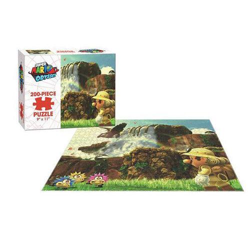 Super Mario Odyssey Cascade Puzzle (200 pieces)