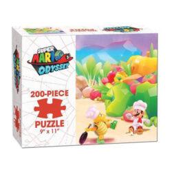 Super Mario Odyssey Luncheon Puzzle (200 pieces)
