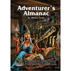 The Adventurer's Almanac - System Neutral Sourcebook (Hardback)