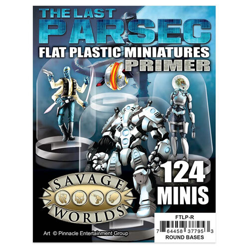 The Last Parsec: Primer: Flat Plastic Miniatures