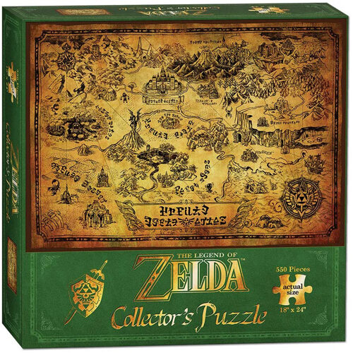 The Legend of Zelda Collector's Puzzle (550 pieces)