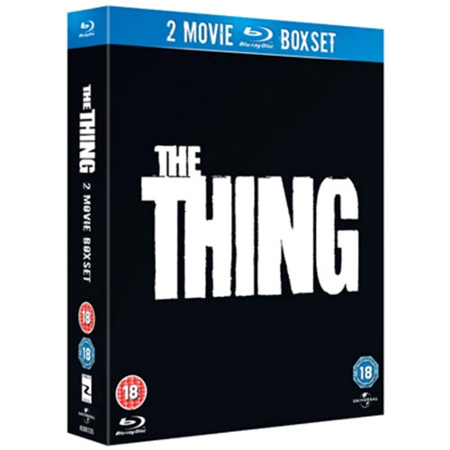 The Thing (1982) / The Thing (2011) - Blu-ray