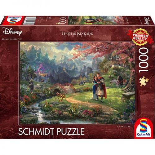 Thomas Kinkade: Disney Mulan Blossoms of Love (1000pc)