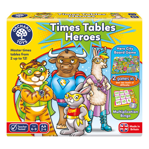 Times Tables Heroes