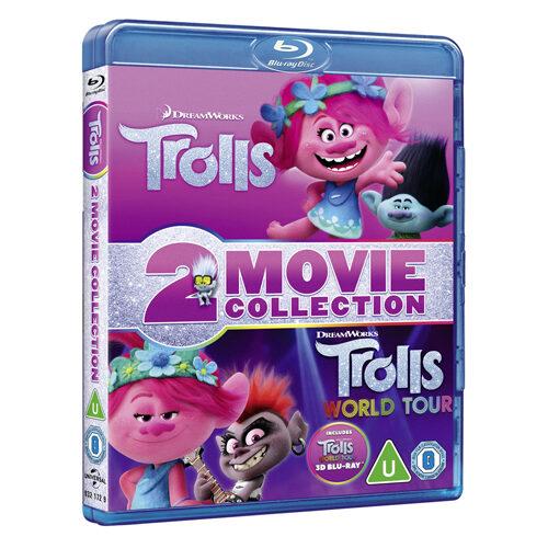 Trolls / Trolls World Tour 2D + 3D - Blu-ray