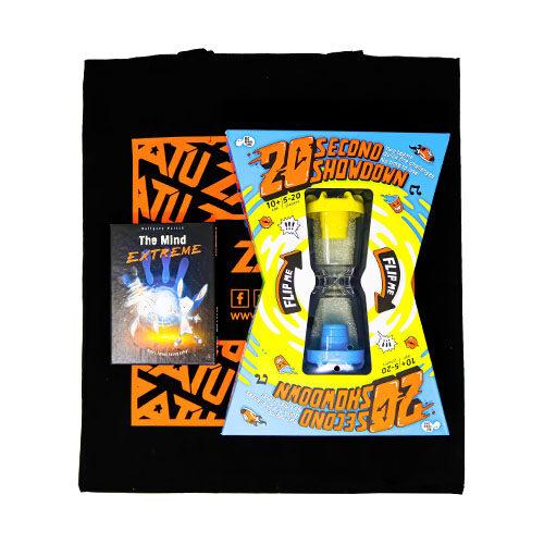 Zatu Tote Bag With Games