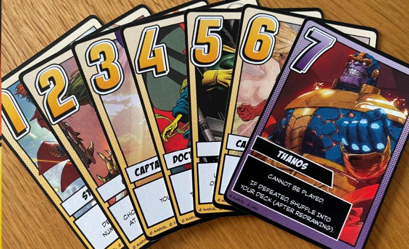 infinity gauntlet cards