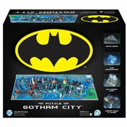 4D Cityscape Time Puzzle Batman Gotham City