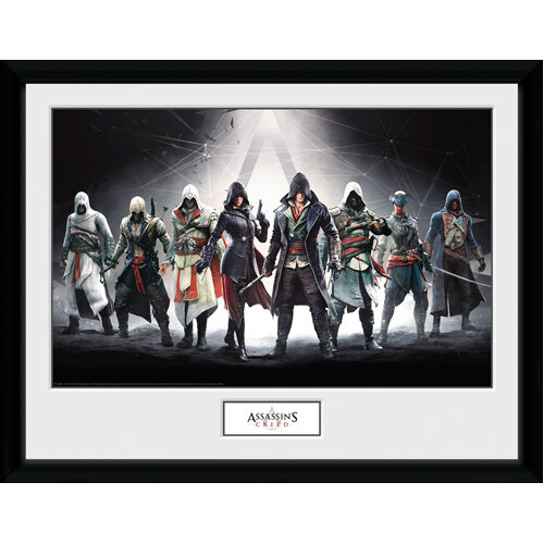 Assassins Creed - Framed Print