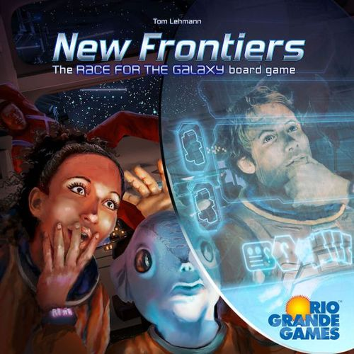 *B Grade* New Frontiers: The Race for the Galaxy Board Game